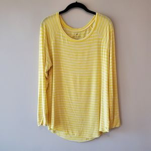 American Eagle soft & sexy yellow tee large